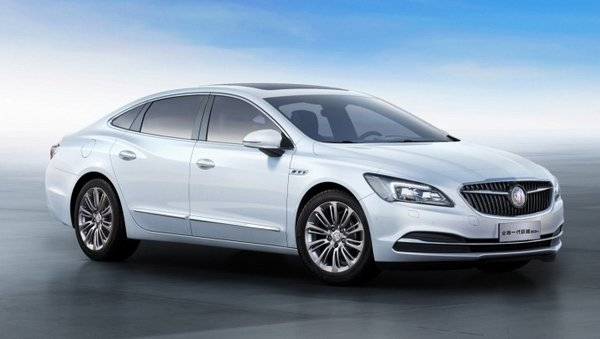 2017 Buick LaCrosse Hybrid Electric Vehicle Review - Top Speed