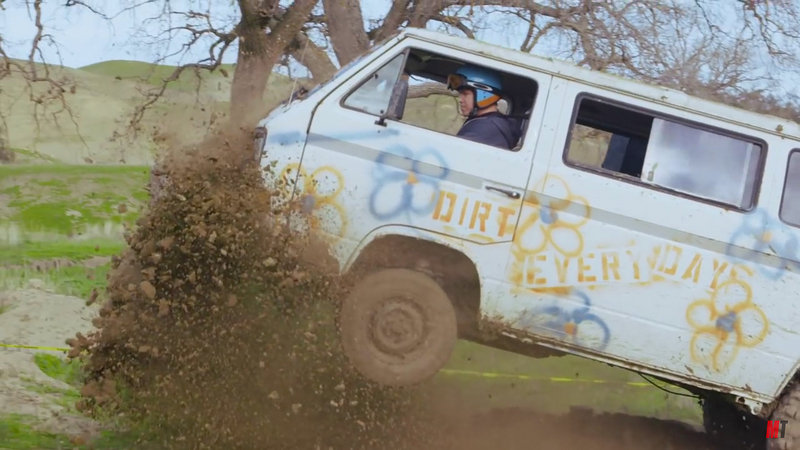 """Dirt Every Day"" Races 1967 Ford F-100 & VW Van: Video"