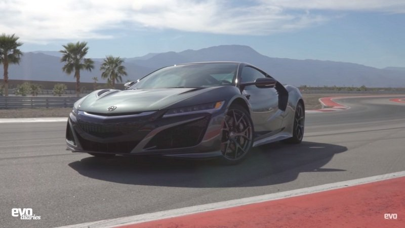 EVO Reviews The Honda NSX: Video