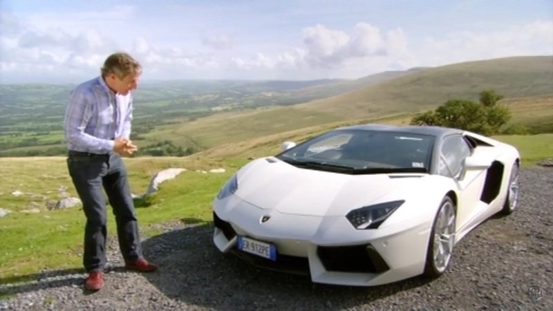 Fifth Gear Drives The Lamborghini Aventador Roadster: Video