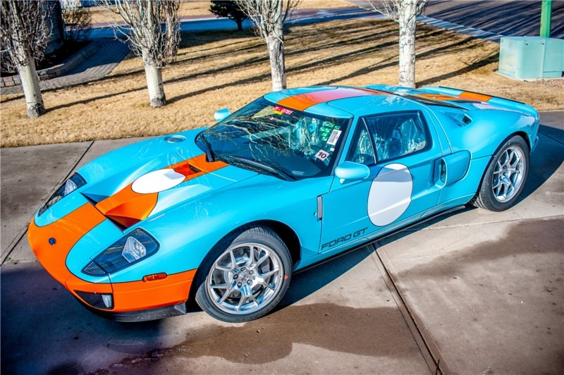 Ford Gt Heritage Edition To Go Under The Hammer At Barrett Jackson Auction