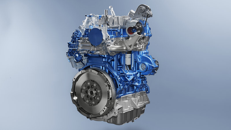 Ford Introduces EcoBlue Turbodiesel Engine For Europe