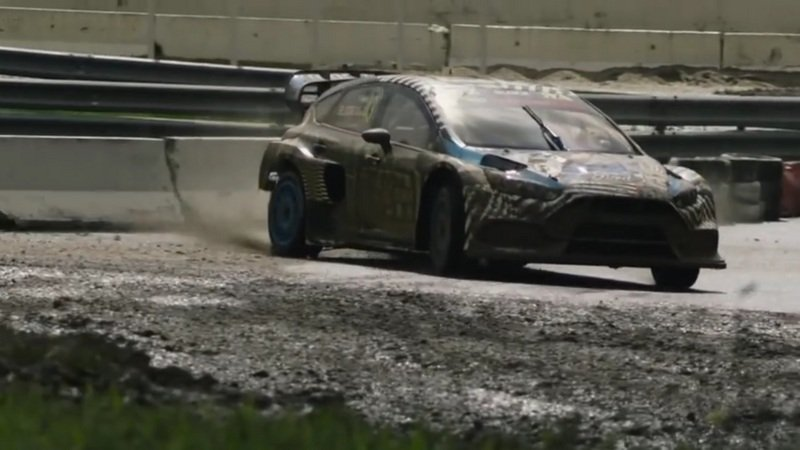 Ford Performance Gives An Inside Look At Its New Rallycross Car: Video