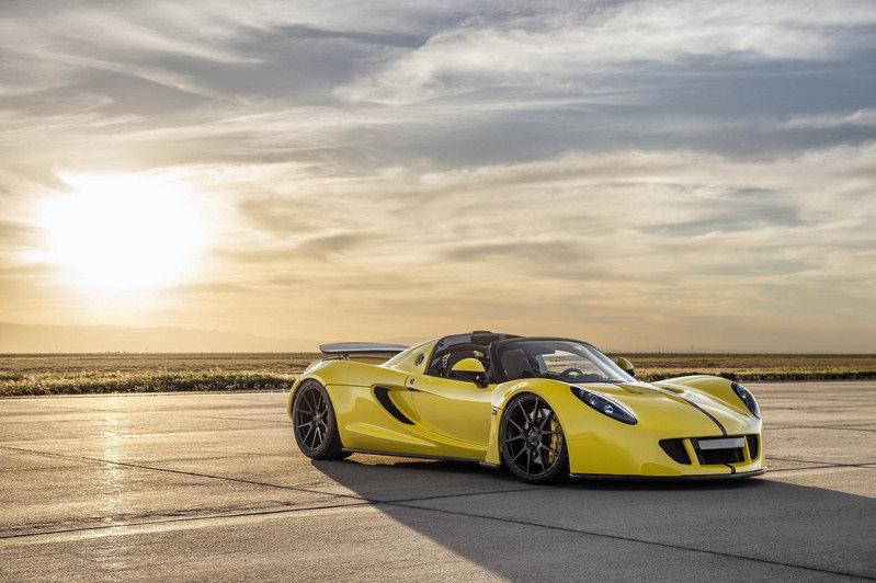 Hennessey Venom GT Spyder Becomes The World's Fastest Convertible