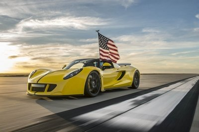 Hennessey Venom GT Spyder Becomes The World's Fastest Convertible - image 672254