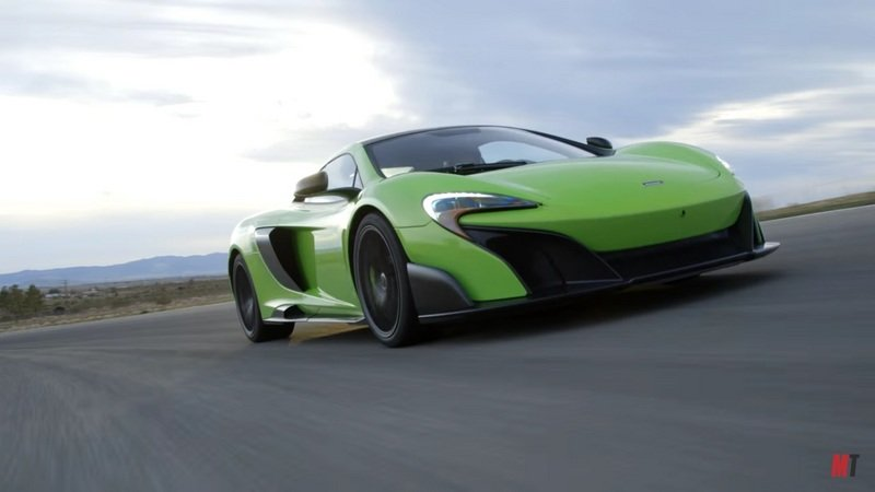 Ignition Puts The McLaren 675LT Through The Ringer: Video