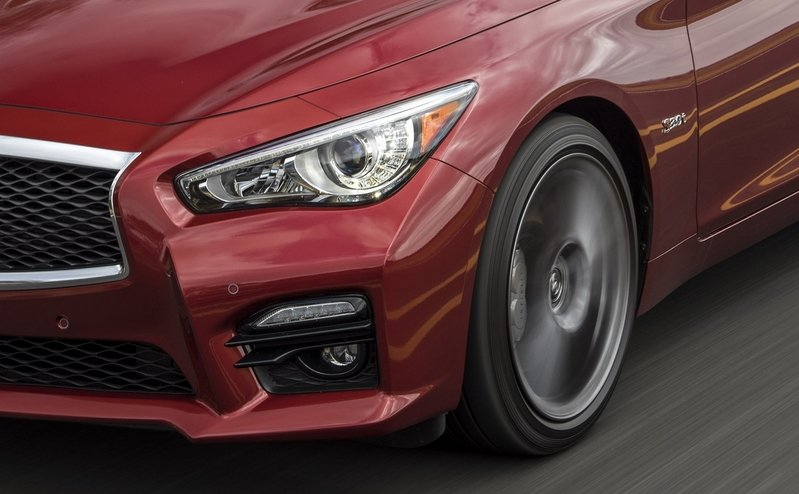 2016 Infiniti Q50 Red Sport 400 High Resolution Exterior - image 672055