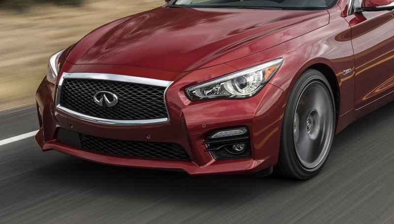 2016 Infiniti Q50 Red Sport 400 High Resolution Exterior - image 672056