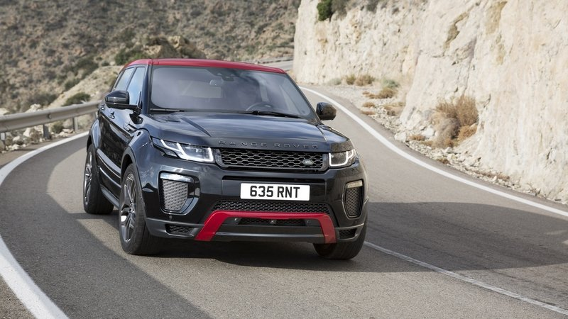 2017 Land Rover Range Rover Evoque Ember Limited Edition