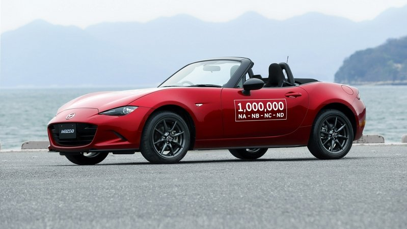 Mazda Celebrates Production Of 1 Millionth MX-5 Miata