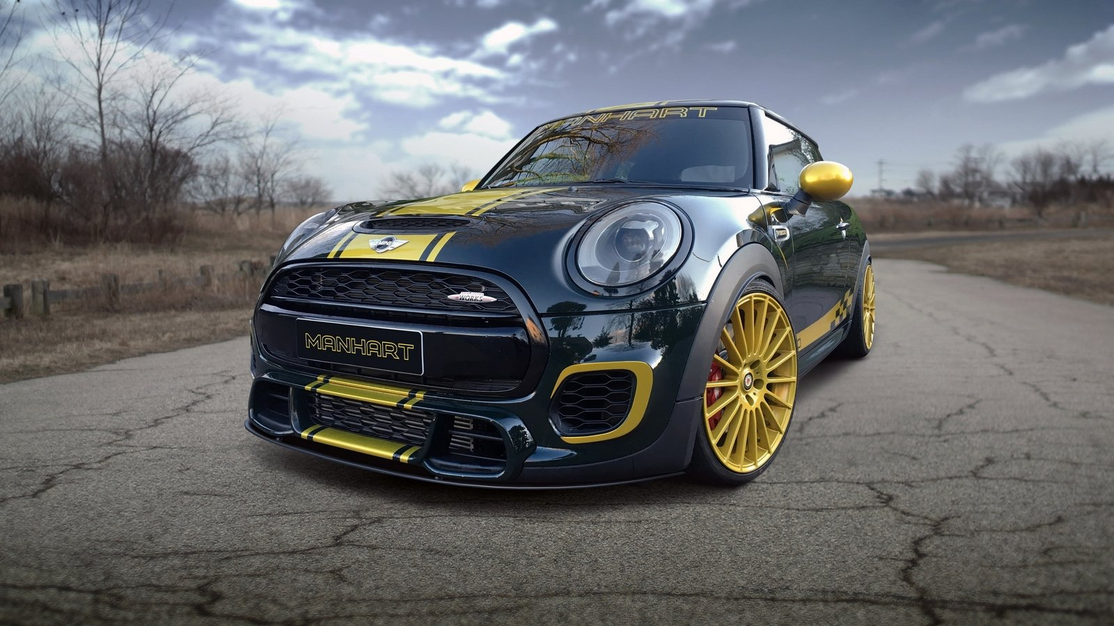 2016 mini cooper john cooper works f300 by manhart racing review top speed. Black Bedroom Furniture Sets. Home Design Ideas