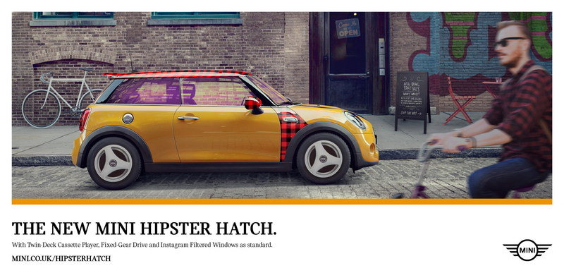 Mini Launches Hipster Hatch With Instagram Filtered Windows