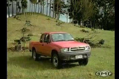 Old-School Toyota Hilux Ad is Slap-Stick Fun: Video