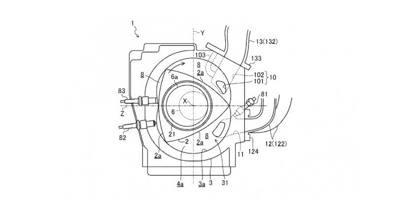 Patent Application Reveals Mazda's Plan To Bring Back Rotary Engine