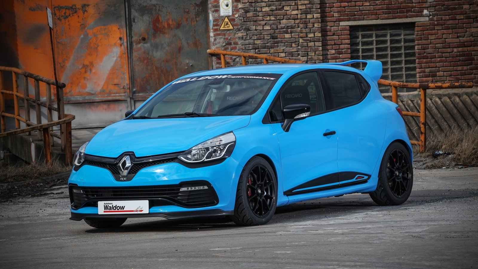 2016 renault clio 220 trophy edc by waldow performance. Black Bedroom Furniture Sets. Home Design Ideas
