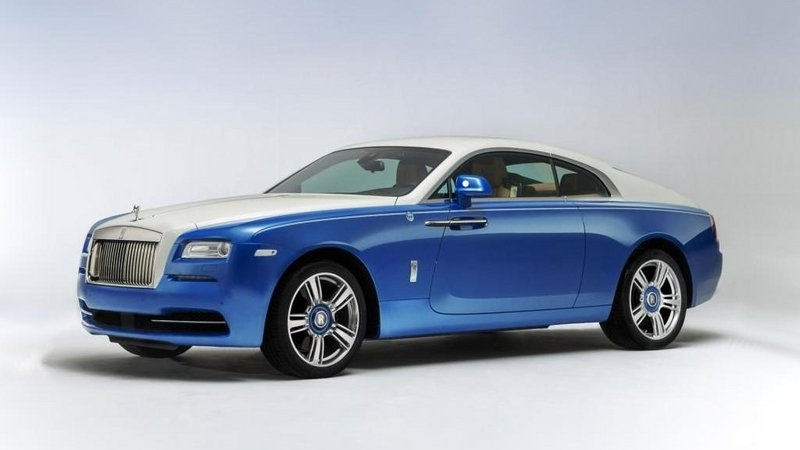 2016 Rolls Royce Wraith Nautical Edition