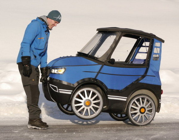 Say Hello To The Podride A Swedish All Weather Electric