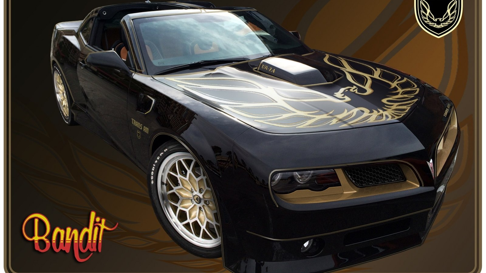 Smokey and the bandit trans am-3865