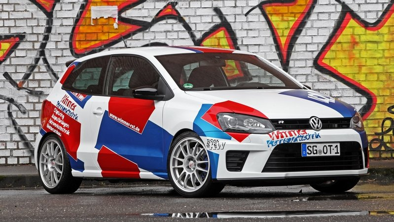 2016 Volkswagen Polo R WRC Street By Wimmer