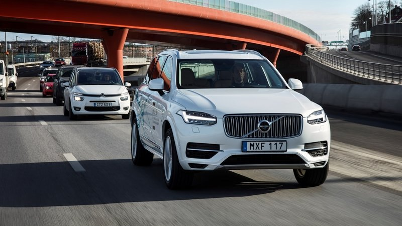 Volvo Launches China's Most Advanced Autonomous Driving Experiment
