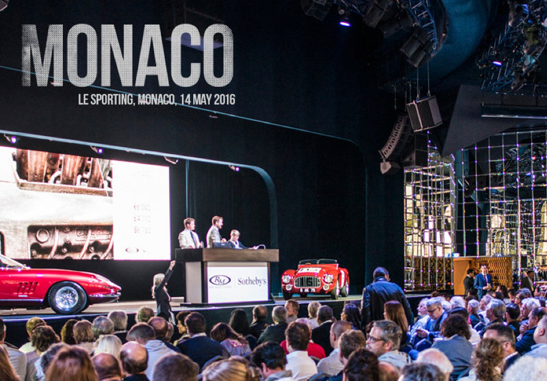 Waxing Nostalgic in Monaco at RM Sotheby's 2016 Auction