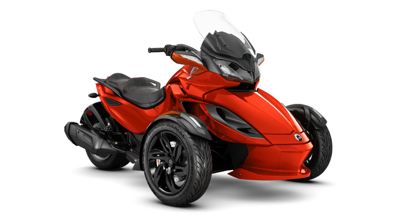 2015 - 2016 Can-Am Spyder ST-S