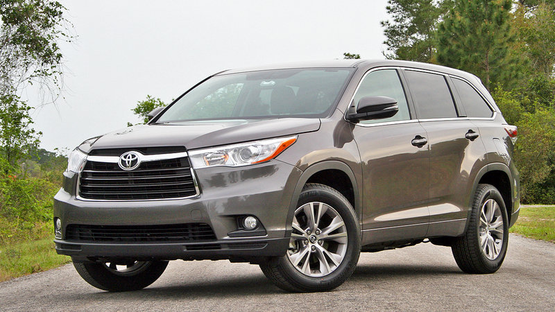 2016 Toyota Highlander – Driven High Resolution Exterior - image 675491