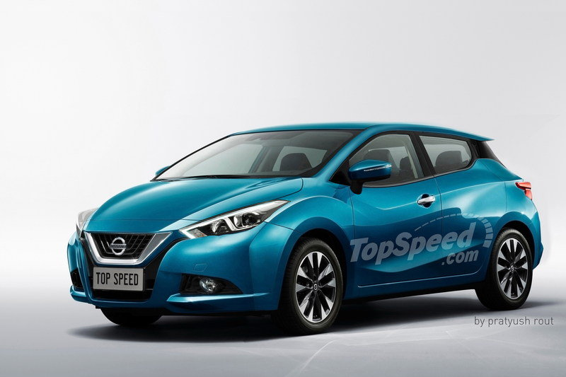 2017 Nissan Micra Exterior Exclusive Renderings Computer Renderings and Photoshop - image 676719