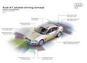 Audi's A7 Piloted Driving Concept Making Steady Improvements - image 676025