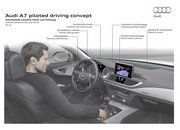 Audi's A7 Piloted Driving Concept Making Steady Improvements - image 676027
