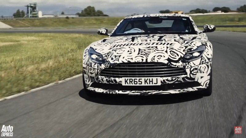 Auto Express Spends Some Time With The Aston Martin DB11: Video
