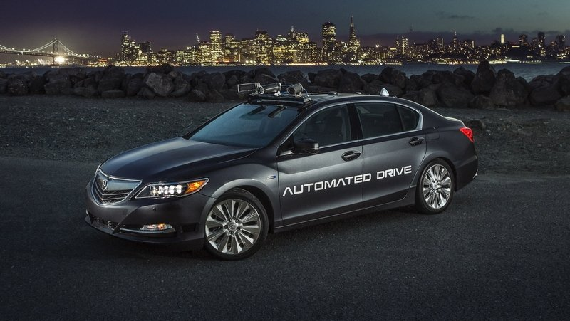 Acura Reveals Second Generation Automated Development Vehicle