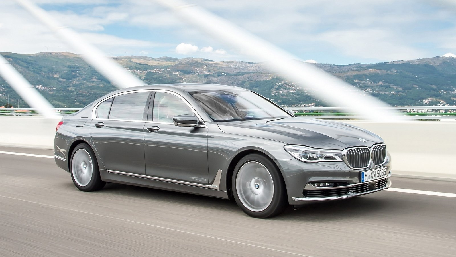 2017 bmw 750d xdrive and bmw 750ld xdrive review - top speed