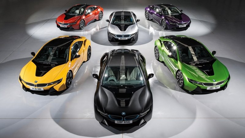 "BMW Individual Offers ""Exterior Paint Programme"" For The i8"