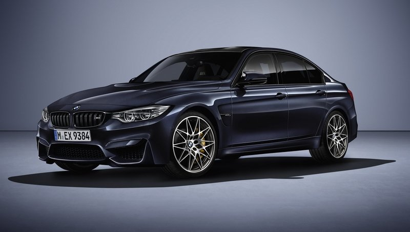 "2016 BMW M3 ""30 Years M3"" Edition"