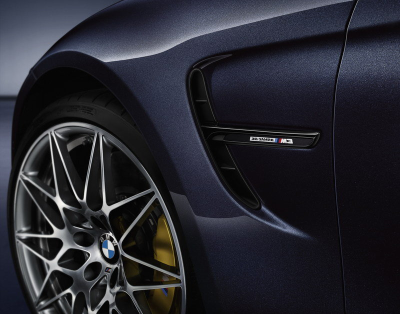 "2016 BMW M3 ""30 Years M3"" Edition High Resolution Exterior - image 678012"