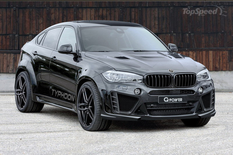 2016 BMW X6 M Typhoon By G-Power