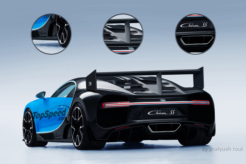 2021 Bugatti Chiron Super Sport Exterior Exclusive Renderings Computer Renderings and Photoshop - image 675475