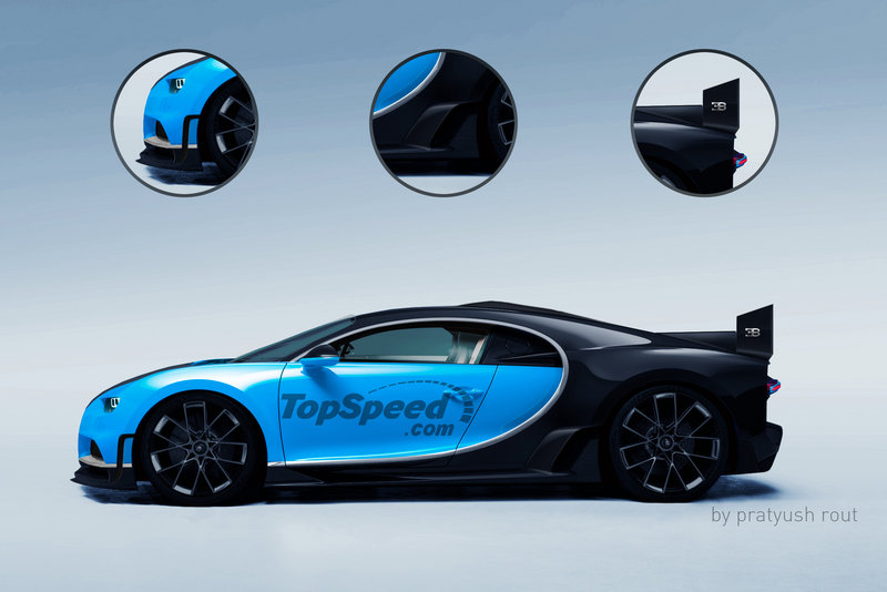 2021 Bugatti Chiron Super Sport Exterior Exclusive Renderings Computer Renderings and Photoshop - image 675476