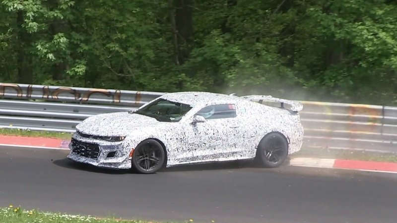 Chevrolet Camaro Z/28 Prototype Crashes At The Nurburgring: Video