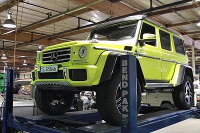/Drive Goes Upskirt on Mercedes-Benz G500 4x4²: Video