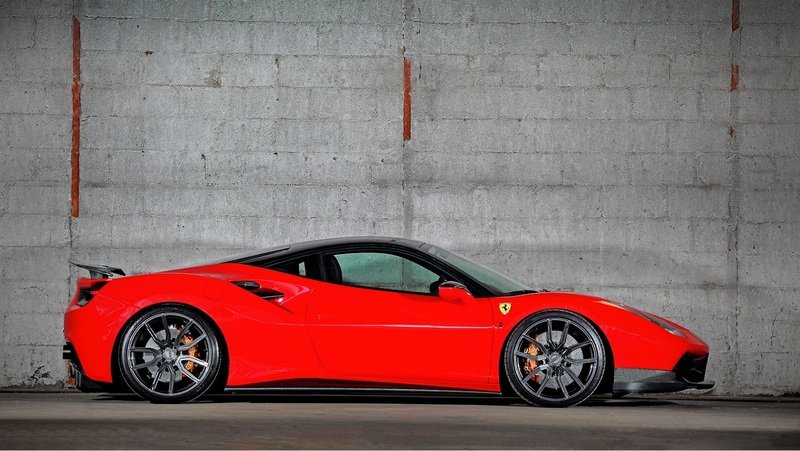 "Ferrari 488 GTB ""Project VOS-9X"" by VOS Performance"