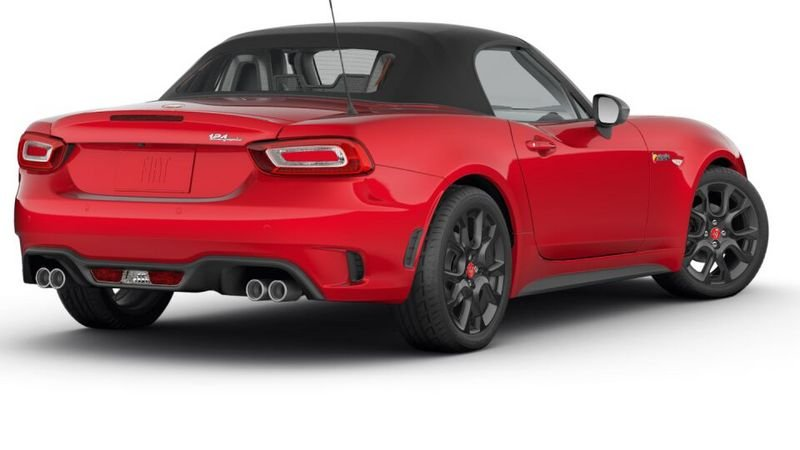 Fiat 124 Spider Configurator Goes Live on Fiat's Consumer Websites