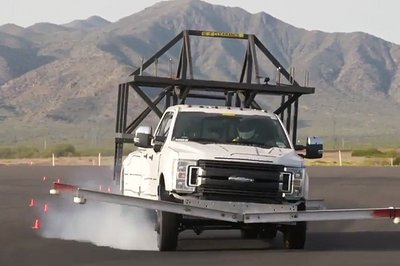 Ford Demonstrates Roll Stability Control on 2017 Super Duty