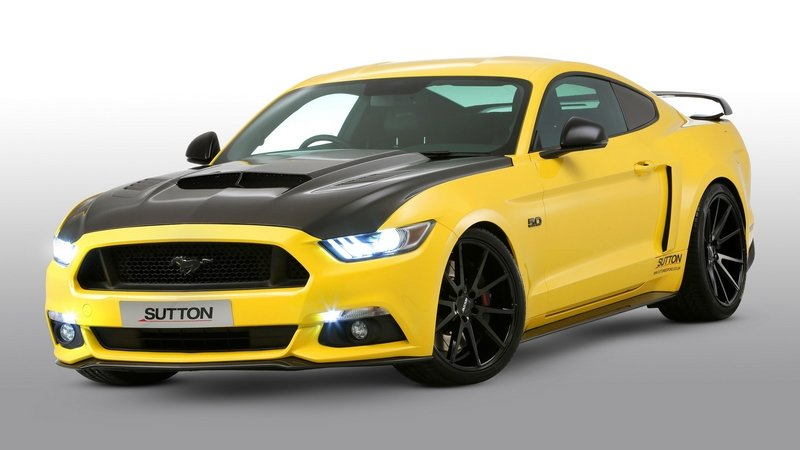 2016 Ford Mustang By Clive Sutton