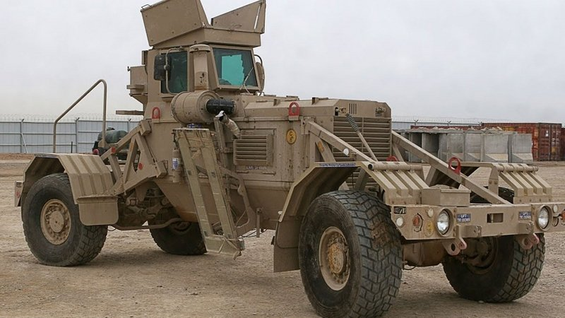 Husky MkIII Vehicle Mounted Mine Detector