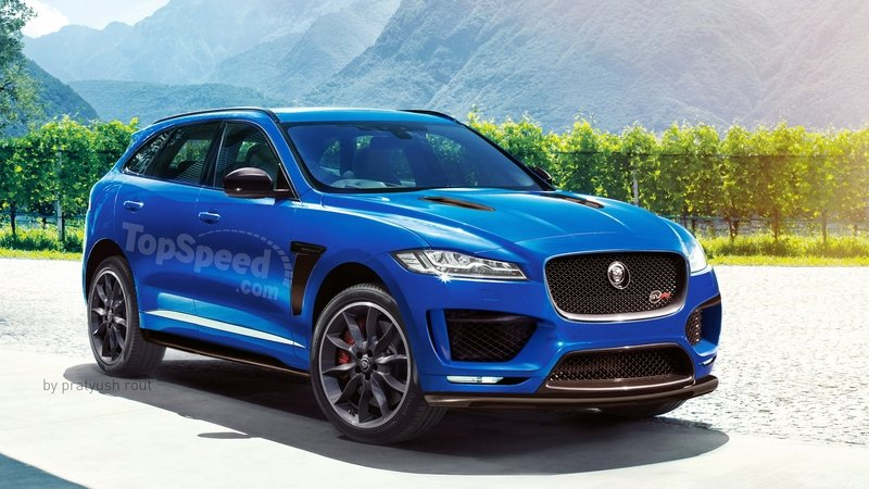 2018 Jaguar F-Pace SVR Exterior Exclusive Renderings Computer Renderings and Photoshop - image 675473