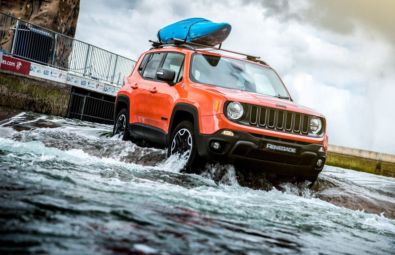 Jeep Renegade Drives Olympic-Standard White Water Rafting Course