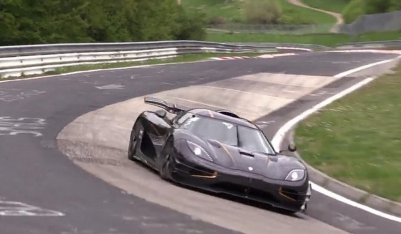 Koenigsegg One:1 Touches Down On The Nürburgring: Video