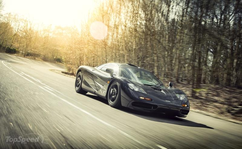 1993 McLaren F1 High Resolution Exterior Wallpaper quality - image 674560